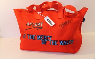 Afloat at the Mercy of the Waves, by Lawrence Weiner