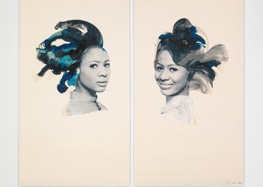 Lorna Simpson - Double portrait