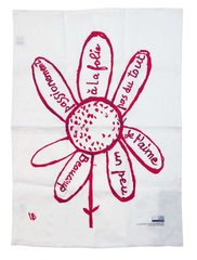 Virtues Theologales - Tea towel, by Louise Bourgeois