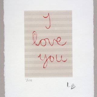 I Love You art for sale