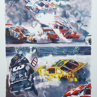 Death of Dale Earnhardt, The Art of Printing art for sale