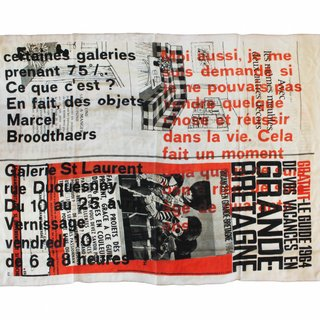 St Laurent Wool Scarf art for sale