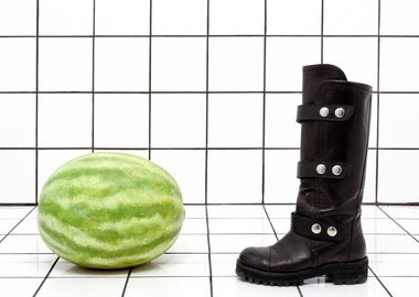 Margaret Lee - Watermelon Boot (anticipation or something)