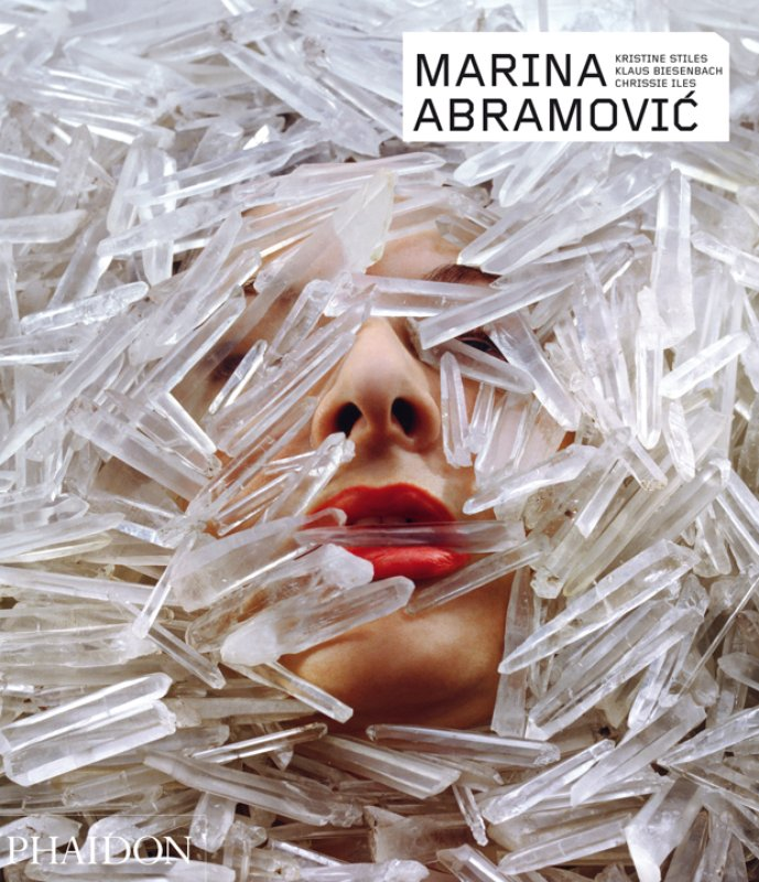 Marina Abramovic, the definitive monograph available from Phaidon