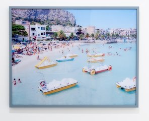 Mondello Paddle Boats, by Massimo Vitali