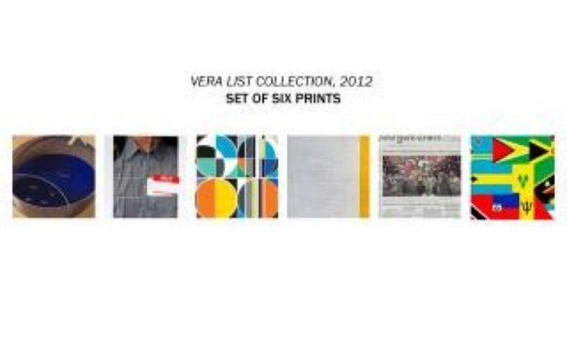 Matt Mullican, MIT Print Project - Set of six prints from the Vera List Anniversary Print Portfolio