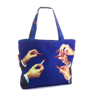 Lipstick Tote Bag art for sale