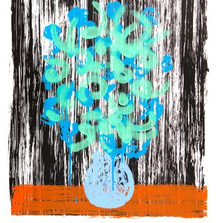 bloemen green art for sale