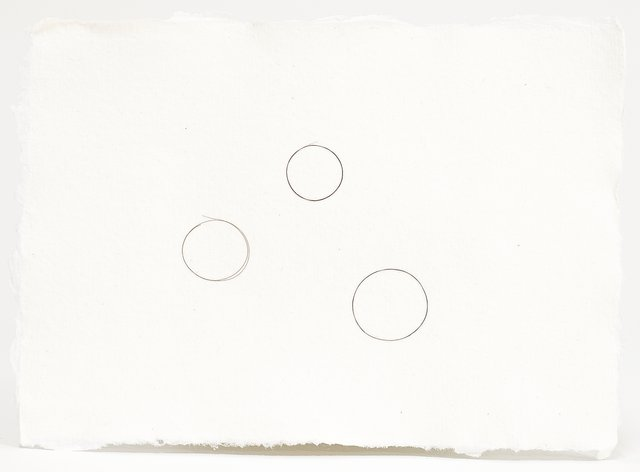 Mona Hatoum - Composition with Circles, Mixed Media