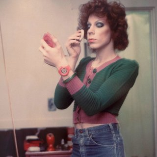 Kenny Putting On Make-up, Boston 1973 art for sale