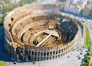 COLOSSEO site specific_ROMA 04, by Olivo Barbieri