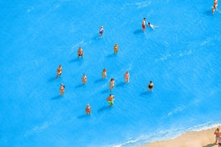 Adriatic Sea (Staged) Dancing People 7, by Olivo Barbieri