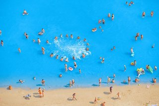 Adriatic Sea (Staged) Dancing People 9, by Olivo Barbieri