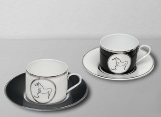 Coffee set Gift box The Horse, by Pablo Picasso