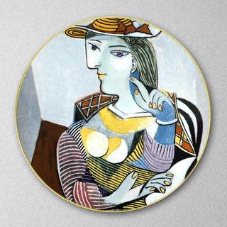 Pablo picasso portrait de marie th r se buffet plate for Sideboard pablo