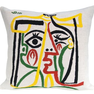 """Head of a Woman"" 1962 (pillow) art for sale"
