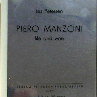 Piero Manzoni: Life and Work art for sale