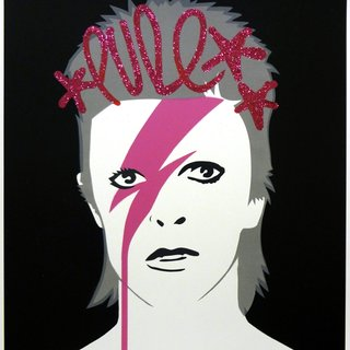 A lad insane - Pure Pink Ziggy art for sale