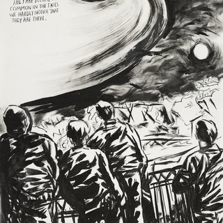 Raymond Pettibon, No Title (They Are Become)
