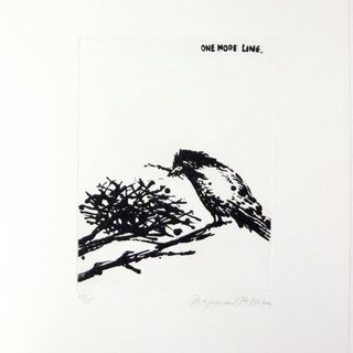 Raymond Pettibon, One More Line
