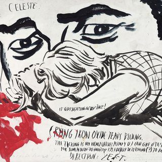 Raymond Pettibon - Untitled (Celeste. It kept), Work on Paper