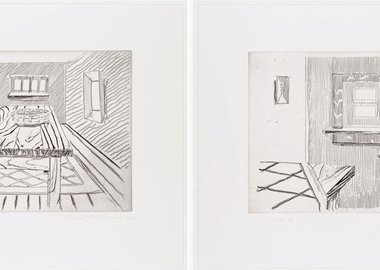 Richard Artschwager - Untitled (from: Notes on a room)