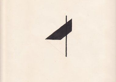 Richard Tuttle - This drawing was made by myself