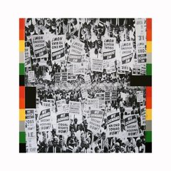 Untitled (Marchers), by Rico Gatson