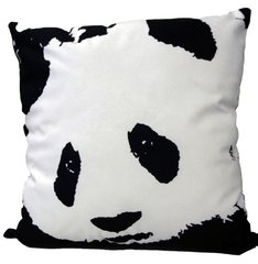 Panda Pillow, by Rob Pruitt