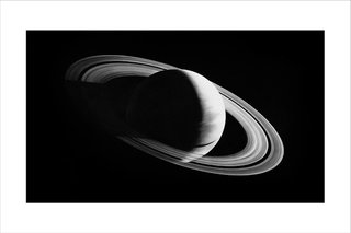 Untitled (Saturn), by Robert Longo