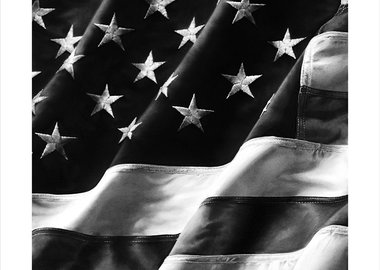 Robert Longo - Untitled (Old Glory), Left Side