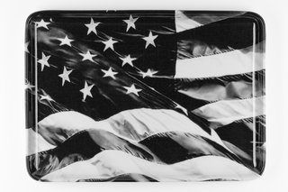 American Flag (Tray), by Robert Longo