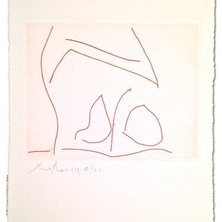 L'amour Venetien, by Robert Motherwell