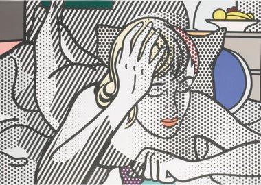Roy Lichtenstein - Thinking Nude (C. 289)