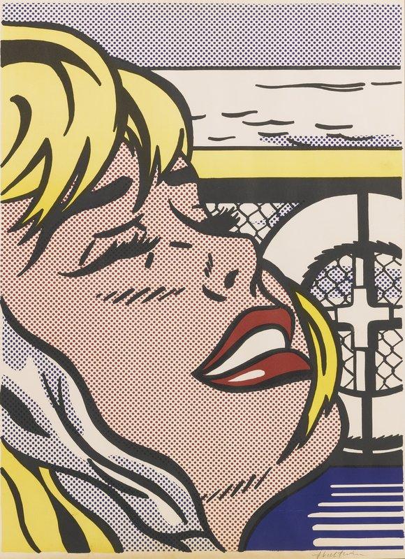 what influenced roy lichtenstein
