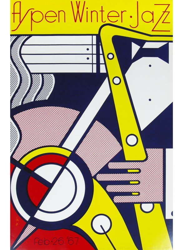 Roy lichtenstein artist bio and art for sale artspace for Poster roy lichtenstein