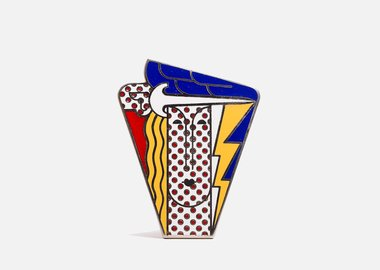 Roy Lichtenstein - Modern Head Pin
