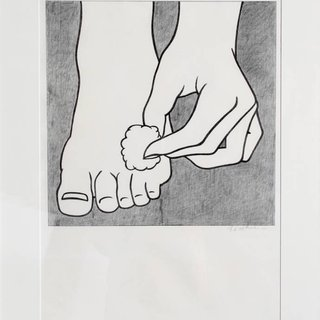 Roy Lichtenstein, Foot Medication