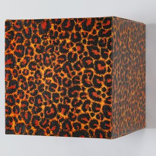 Leopard Cube 3 art for sale