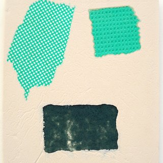 Domestic Bliss Fragment (green) art for sale