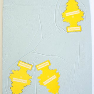 Little Tree's Fragment (yellow) art for sale