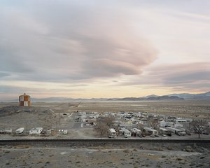Trailer Park, Wendover, UT, by Scott Conarroe