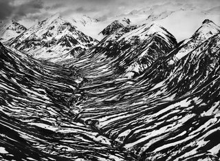 Big Horn Creek in Kluane National Park and Reserve, located in a nearly inaccessible region of Canada's Yukon Territory, near the border with Alaska, by Sebastião Salgado