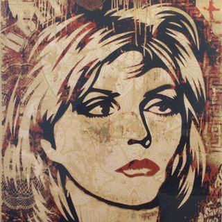 Shepard Fairey - Debbie Harry, Print