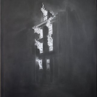 Simon Schubert, Untitled (Poe House Boston)