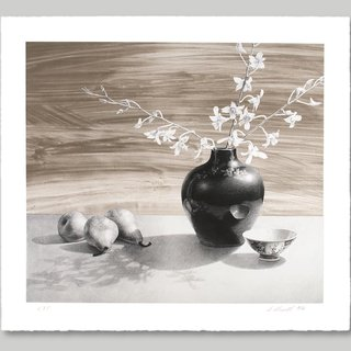 Still Life With Pears art for sale