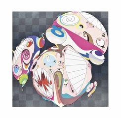 Melting DOB (E), by Takashi Murakami