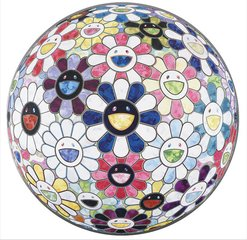 Flower Ball (3D) Autumn 2004, by Takashi Murakami