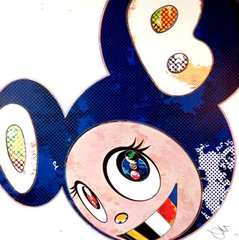 And then x6 (Marine Blue: The Superflat Method), by Takashi Murakami
