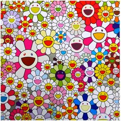 Flowers Blooming in the World and the Land of Nirvana, by Takashi Murakami